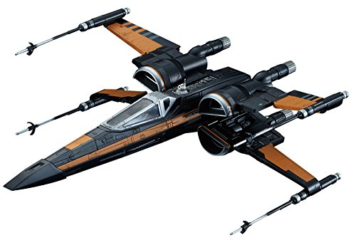Star Wars 1/72 X-wing fighter Poe dedicated...