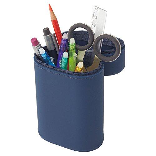 Richtub Stand Pen Case Oval Type L A 7695-24 Black