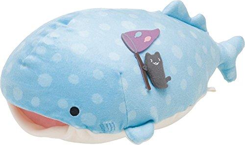 Jinbesan Plush doll Super Mochi mochi series Size M open mouth style