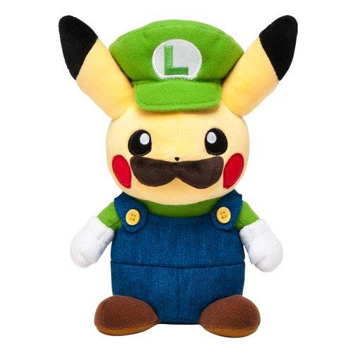 Stuffed Luigi Pikachu