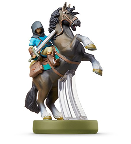 Amiibo link (riding) - Breath of the Wild (The...