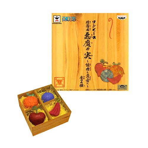 One Piece 4 Devil fruit Figures Gift box style...