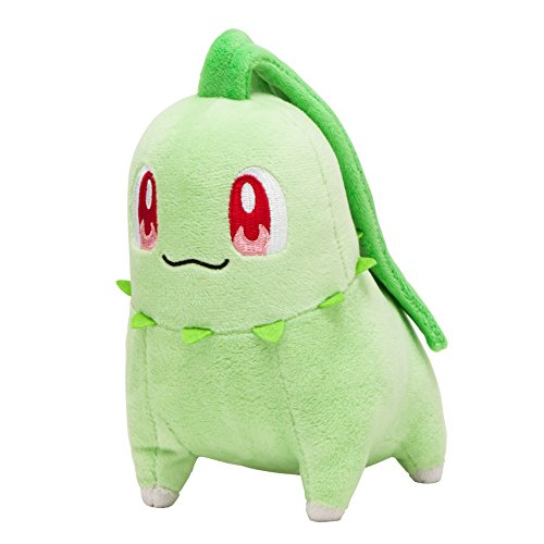 Original Pokemon Center plush chikorita