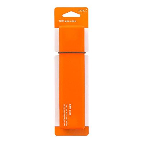 Midori Soft Silicone Pen Case, Orange (41777006)