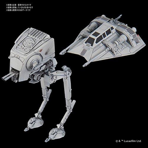 Bandai Vehicle Model 008 Star Wars AT-ST...