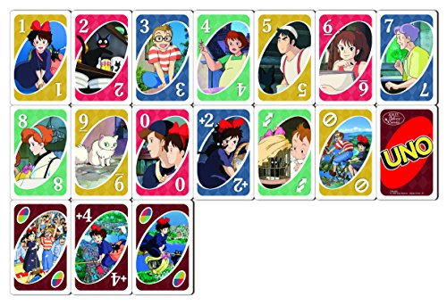 Kiki's delivery service Card game UNO Japan Import
