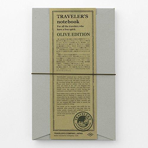 MIDORI TRAVELER'S notebook OLIVE EDITION...