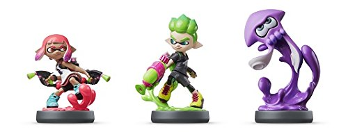amiibo Splatoon2 Squid Boy Girl set Japan...