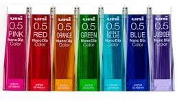 Uni NanoDia Color Mechanical Pencil Leads...