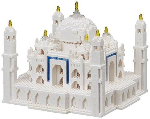 Nanoblock Taj Mahal Deluxe Building Set (2210...