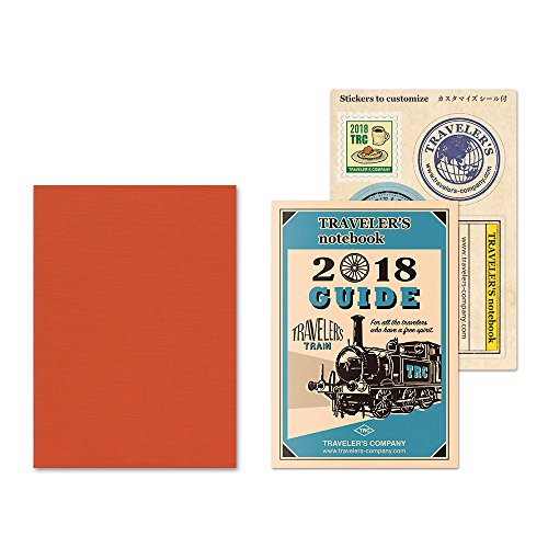MIDORI Traveler's Notebook Refill 2018 MONTHLY...