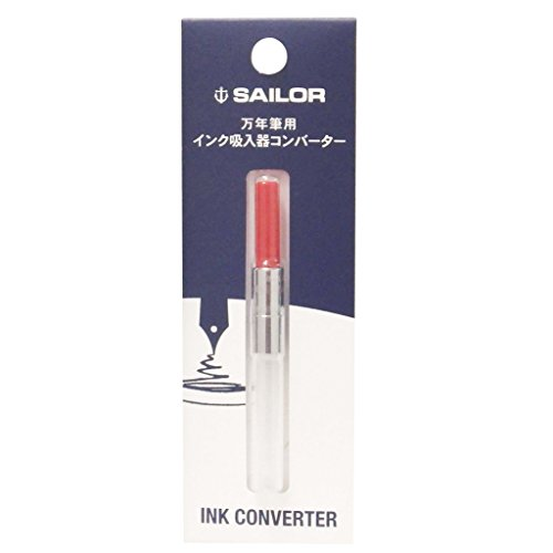 Sailor Fountain Pen Converter (14-0506-230) Red