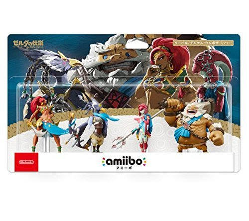 amiibo Legend Zelda Breath Wild 4 four Daruk...