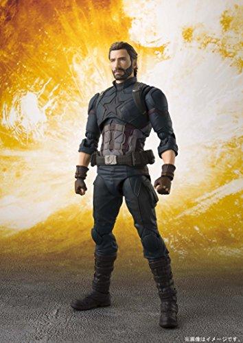 S. H. Figuarts Avengers Captain America...