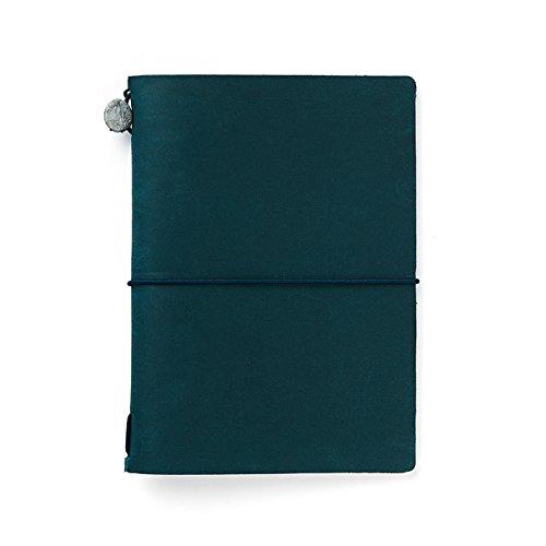 Midori Traveler's Notebook - Starter Kit, Blue...