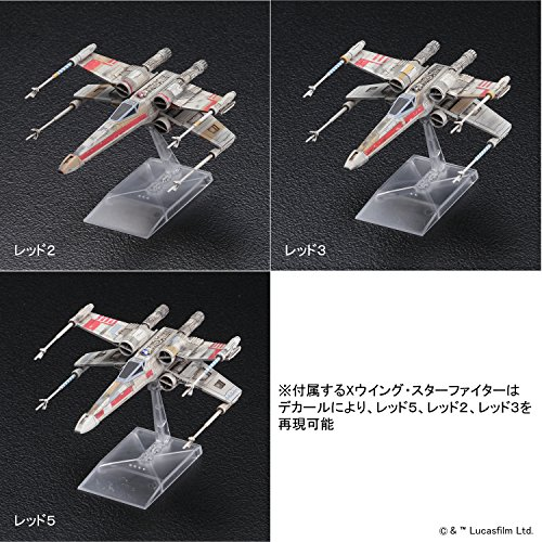 Bandai Hobby Star Wars 1/144 Plastic...