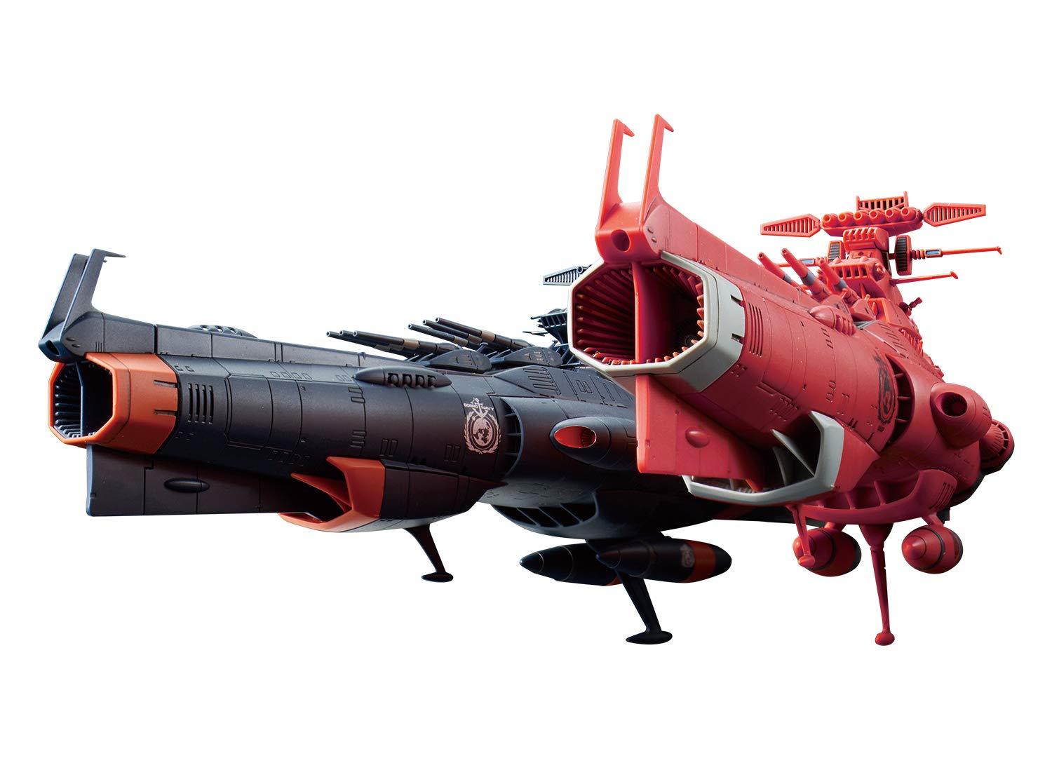 Bandai Hobby Starblazers 1/1000 U.N.C.F. D-1...