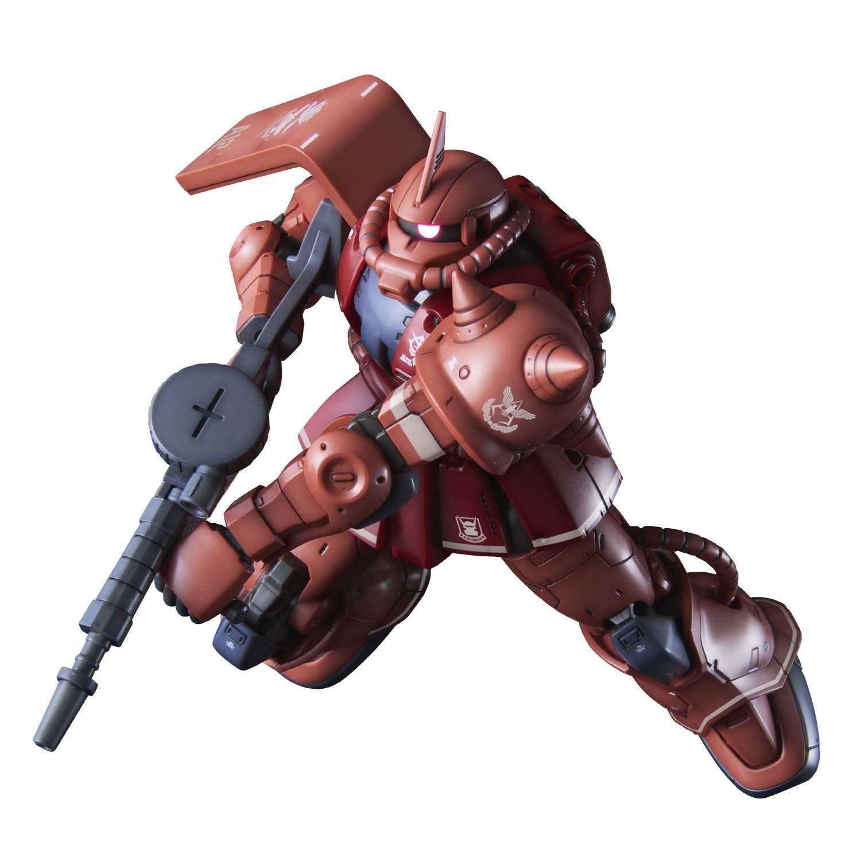 Gundam The Origin MS-06S Zaku II Char Red...