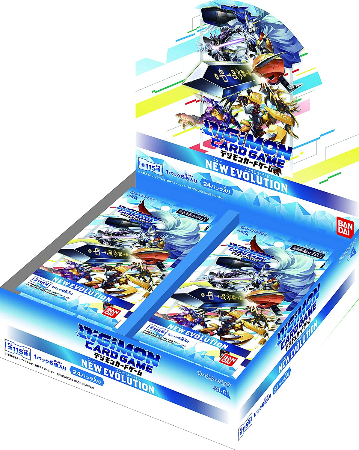 Digimon Card Game Booster New Evolution...
