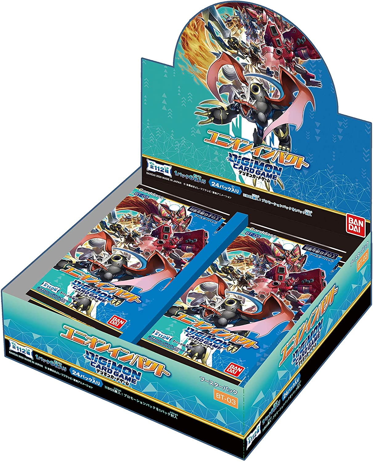 Digimon Card Game Booster Union Impact [BT-03] Box
