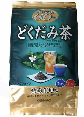 ORIHIRO Chameleon plant Tea for Economy 3g-60packs