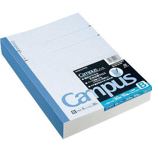 "Kokuyo Campus Notebook Semi B5(""9.8×""7)- 6 mm..."