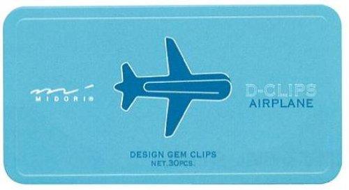 Midori D-Clip Paper Clips - Vehicle Series -...