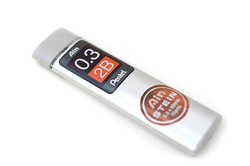 Pentel Ain Ppencil Lead Stein -0.3mm-2B