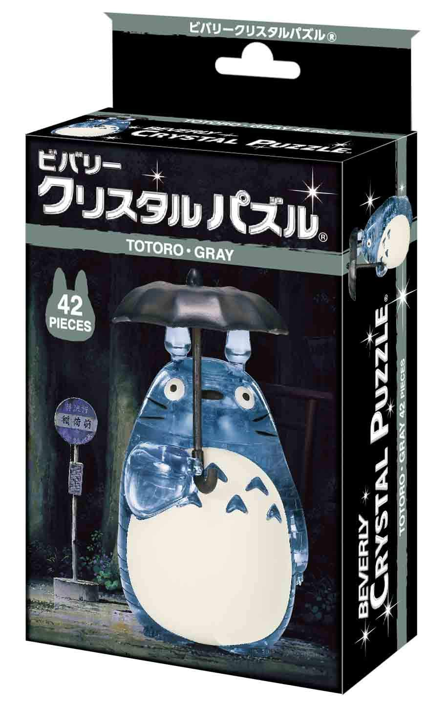 Beverly 42 Piece Crystal Puzzle Totoro Gray
